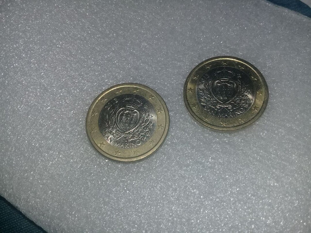 Monedas De 1 Euro De San Marino