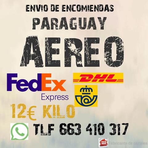 ===PARAGUAY ENVIO DE ENCOMIENDAS - foto 1
