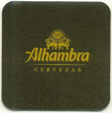 Dos Caras Iguales -- Posavasos Alhambra