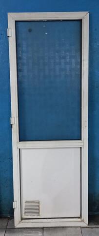 3 Puertas De Aluminio Blanco