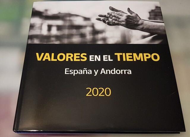 Libro Sellos España Y Andorra 2020