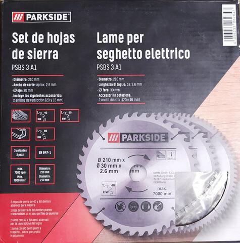 5 Discos Ingletadora 210