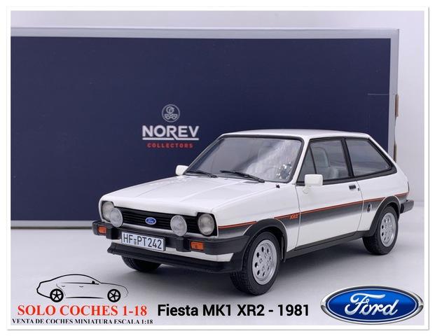 1:18 Ford Fiesta Mk1 Xr2 Blanco 1981