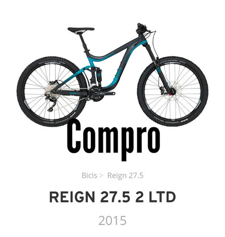 Compro Bicicleta Giant Reing