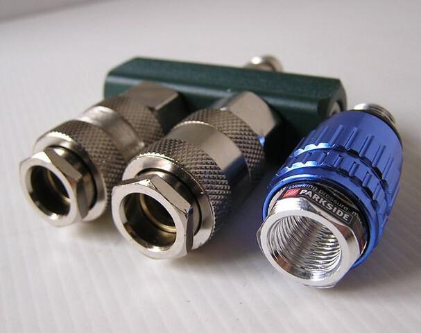 Conector Distribuidor De Aire Comprimido