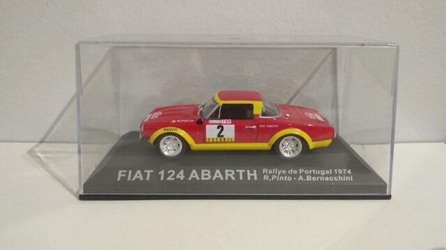 Fiat 124 Abarth - R. Pinto - Portugal 74