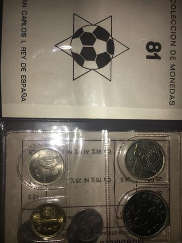 Monedas Conmemorativas Del Mundial 82