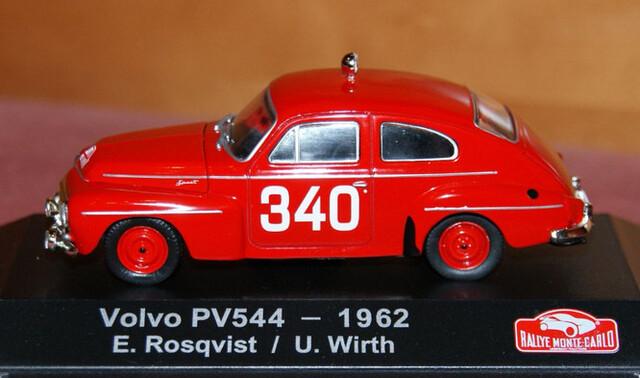 Volvo Pv544 Rallye De Montecarlo 1962 E.