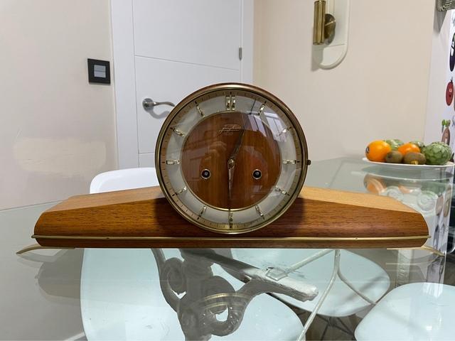 Reloj De Sobremesa Junghans 1960