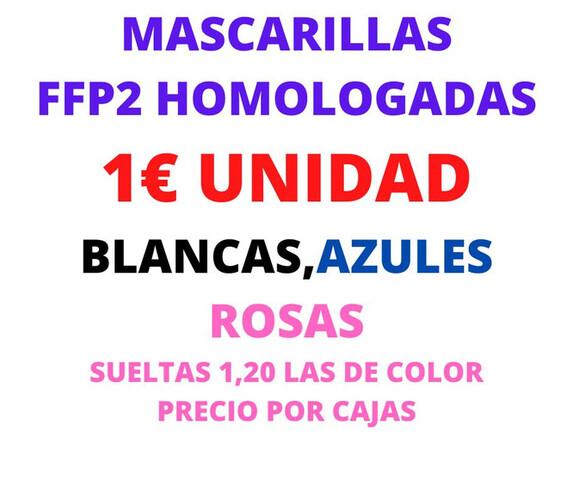 MASCARILLAS FFP2 Y PRODUCTOS ANTI-COVID - foto 2