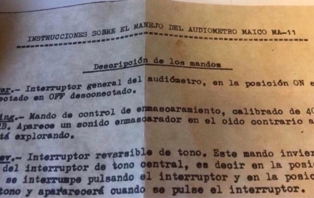 AUDIÓMETRO ANTIGUO 1964 MAICO ( PERFECTO - foto 7