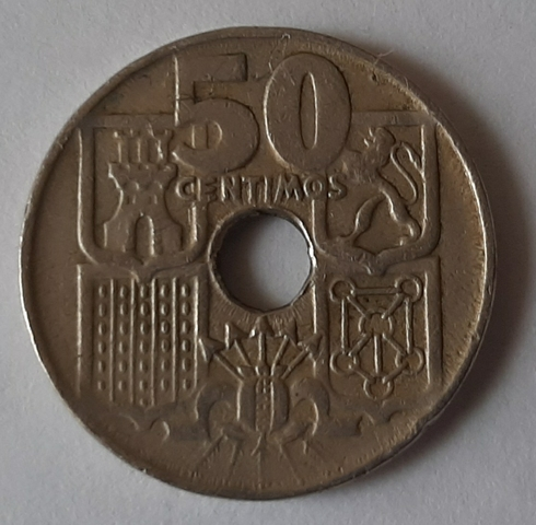 50 Centimos 1949 *54