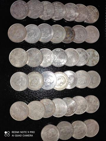 Lote De Monedas De Plata Españolas