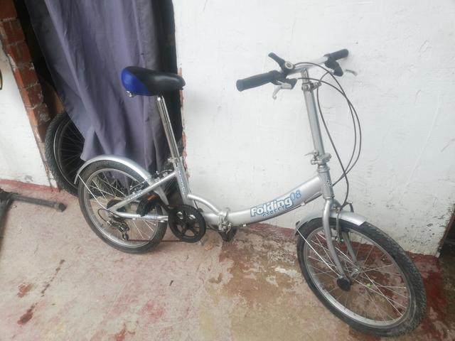 Bicicleta Aluminio Plegable Llanta 20