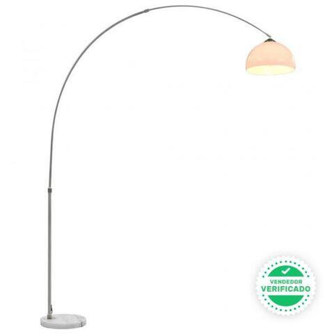 Lámpara De Arco 60 W Plateado E27 200 Cm