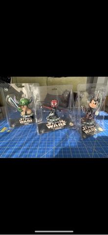 Figuras Disney Star Wars