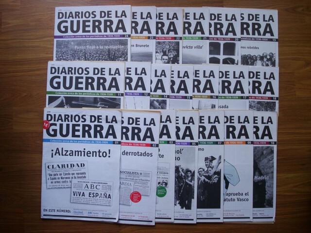 Colección Diarios De La Guerra Civil Esp