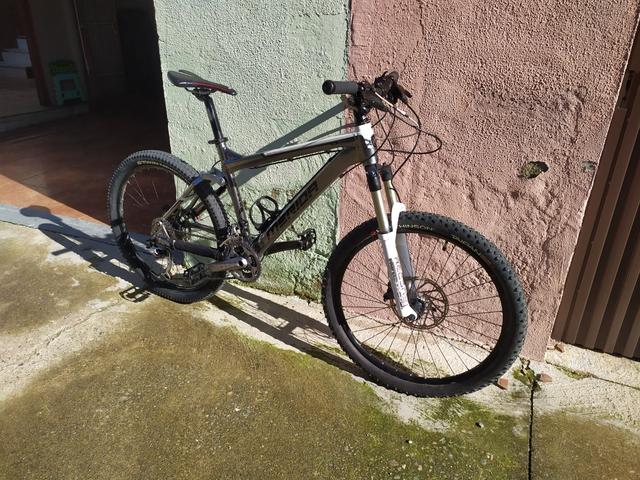 Bicicleta Merida Doble Suspensión