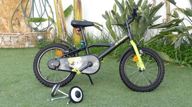 Bicicleta Niño De 16 Pulgadas