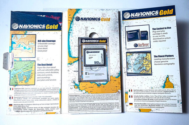 GPS CHARTPLOTTER RAYMARINE RC400 - foto 3