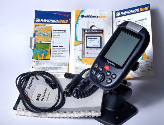 GPS CHARTPLOTTER RAYMARINE RC400 - foto 5