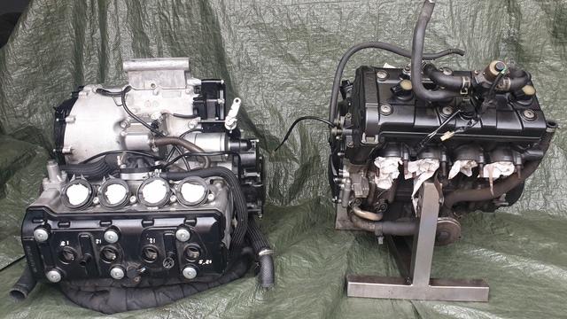 MOTOR COMPLETO DE SINIESTRO R6R GSXR - foto 2