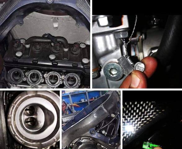 MOTOR COMPLETO DE SINIESTRO R6R GSXR - foto 5