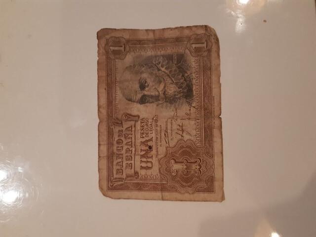 Billete De 1 Peseta Año 1953