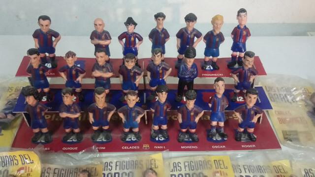 Colección Figuras Del Barcelona