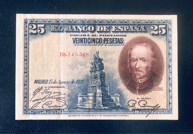 Billete España Gobierno Primo De Rivera