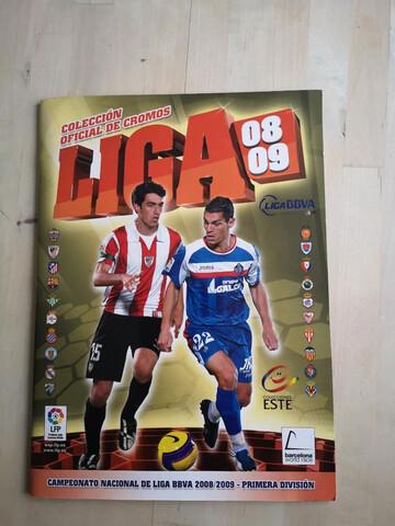 Album Liga Este 2008-09 Completo