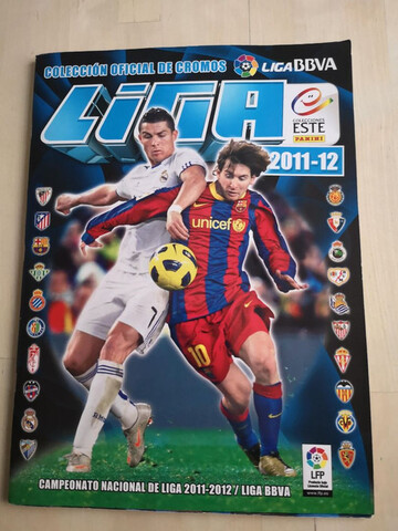 Album Liga Este 2011-12 Completo