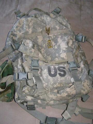 Mochila 3 Dias De Combate Us Army. Palab