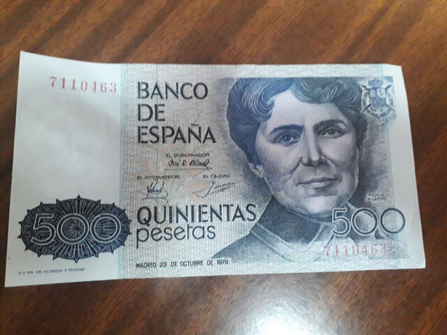 500 Pesetas