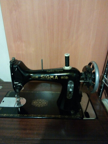 Maquina De Coser Antigua Sigma
