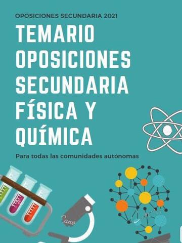 TEMARIO OPOSICIONES FISICA Y QUIMICA - foto 1