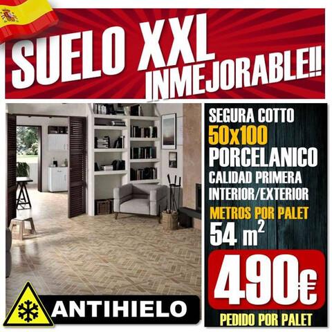 Suelo Rustico 50X100 Porcelanico Oferta!