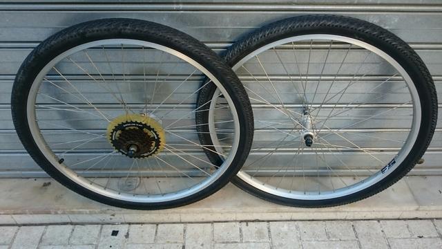 Ruedas Bicicleta 26 Completas