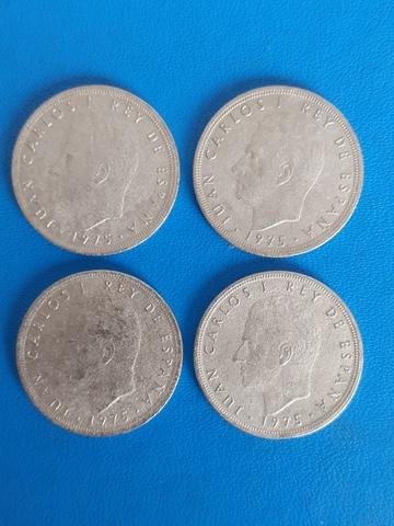 Monedas Rey Juan Carlos 1975 *