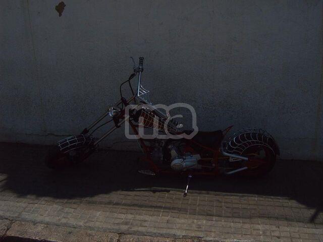 MINI CHOPPER 110 BLACK WIDOW - foto 6