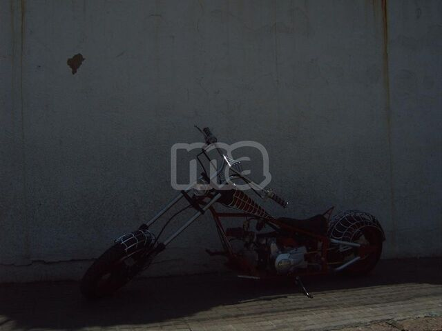 MINI CHOPPER 110 BLACK WIDOW - foto 7