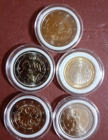 Monedas Conmemorativas €