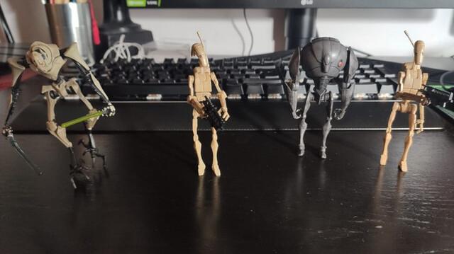 Figuras Droides Y Grievous Star Wars Has