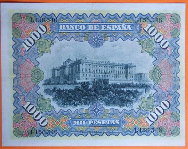BILLETE 1000 PESETAS 1907 - foto 2