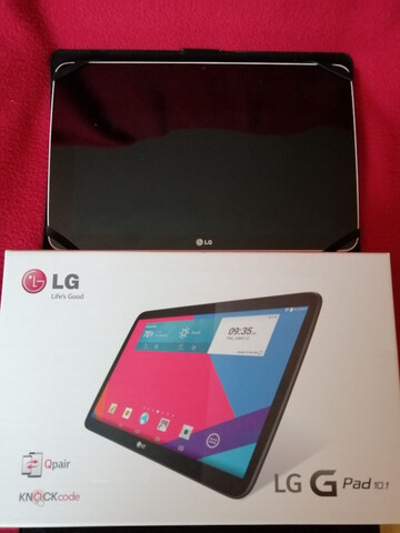 TABLET LG V700 G-PAD 10.1 BLANCA