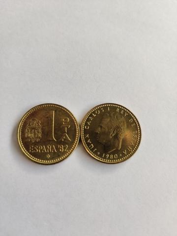 Moneda 1 Peseta  1982 Coleccionar Colecc