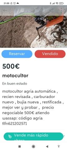 MOTOCULTOR AGRIA - foto 1