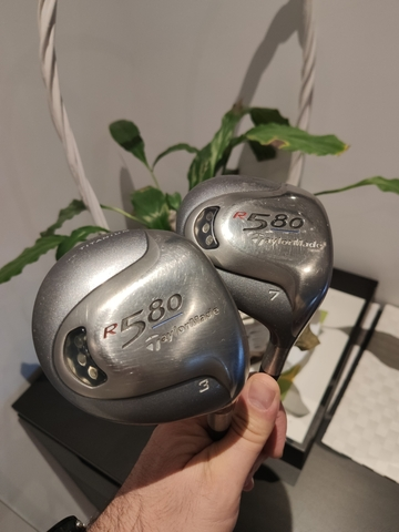 Lady - Maderas 3 Y 7 Taylormade R580
