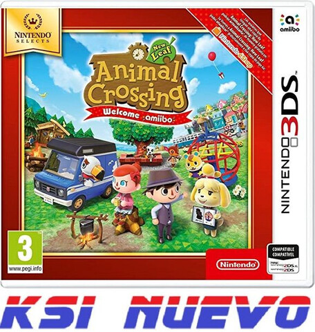 JUEGO  3DS ANIMAL CROSSING NEW LEAF - foto 1