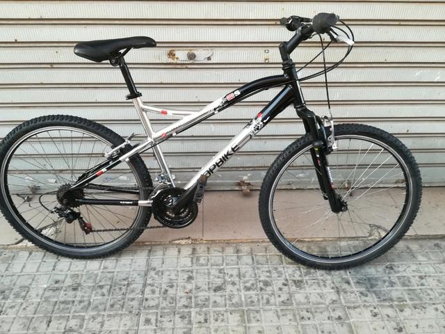 Bici Topbike Aluminio Cromado De 26